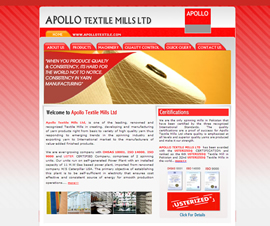 <a href='http://www.apollotextile.com' target='_blank'>Launch Project >></a>